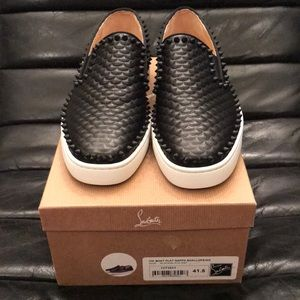 Authentic Christian Louboutin Boat Flat Sneaker